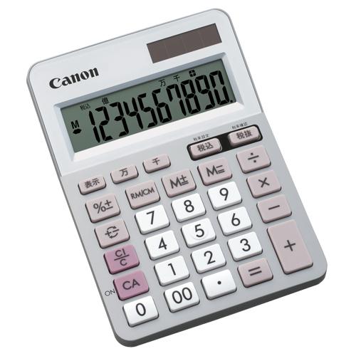 キヤノン 電卓 LS-100TU 10桁 ミニ卓上タイプ 5625B001 1台