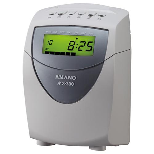 アマノ 集計タイムレコーダー MX-300 1台
