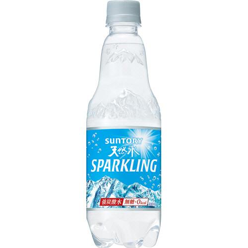 サントリー 南アルプスの天然水 スパークリング 500ml ペットボトル 1ケース(24本)