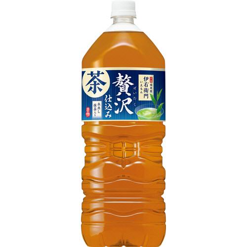 サントリー 伊右衛門 贅沢冷茶 2L ペットボトル 1ケース(6本)