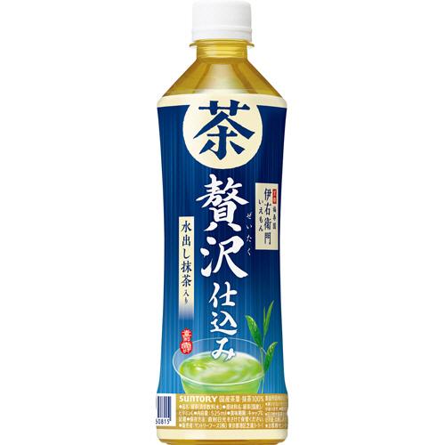 サントリー 伊右衛門 贅沢冷茶 500ml ペットボトル 1ケース(24本)