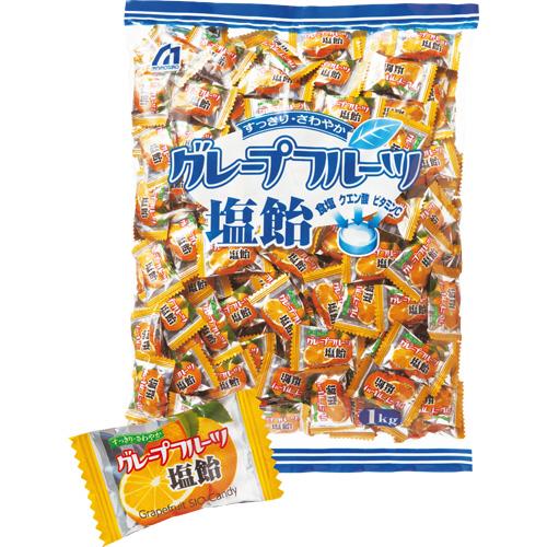 桃太郎製菓 グレープフルーツ塩飴 1kg 1セット(3パック)