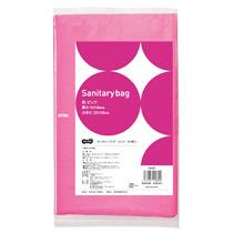 TANOSEE サニタリーバッグ ピンク 1セット(3000枚:50枚×60パック)