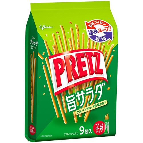 グリコ プリッツ サラダ 1セット(27袋:9袋×3パック)
