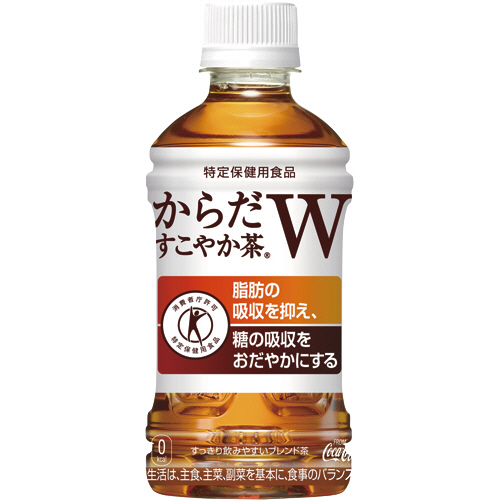 コカ・コーラ からだすこやか茶W 350ml ペットボトル 1ケース(24本)
