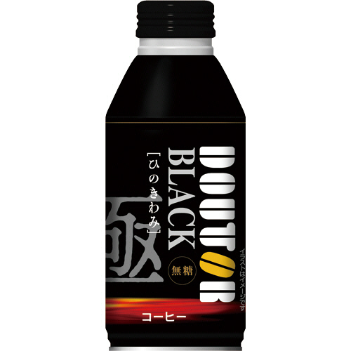 ドトールコーヒー ブラックコーヒー レアル 400g ボトル缶 1ケース(24本)