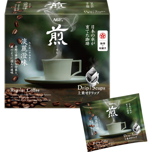 AGF 煎(せん) 上乗せドリップコーヒー 淡麗澄味 10g 1セット(30袋:5袋×6箱)