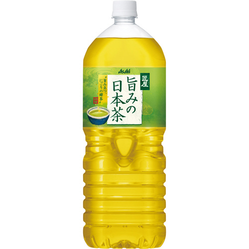 アサヒ 匠屋 旨みの日本茶 2L ペットボトル 1ケース(6本)