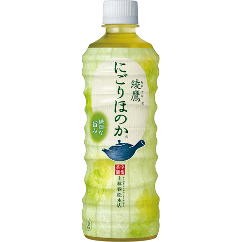 コカ・コーラ 綾鷹 にごりほのか 525ml ペットボトル 1セット(48本:24本×2ケース)