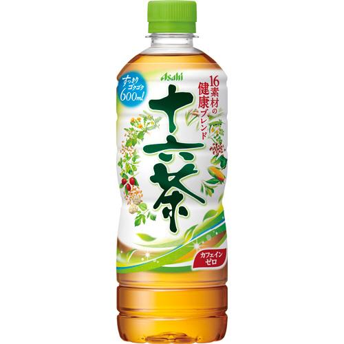 アサヒ 十六茶 600ml ペットボトル 1セット(48本:24本×2ケース)