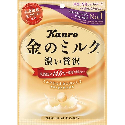 カンロ 金のミルクキャンディ 80g/袋 1セット(6袋)