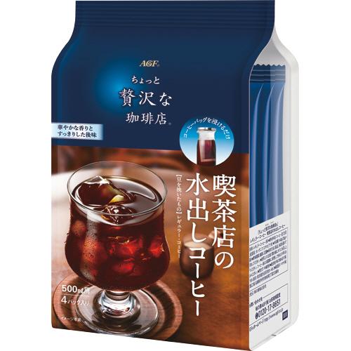 AGF マキシムちょっと贅沢な珈琲店 喫茶店の水出しコーヒー 1ケース(24バッグ:4バッグ×6袋)