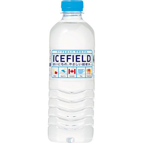 NGWジャパン アイスフィールド 500ml ペットボトル 1ケース(24本)