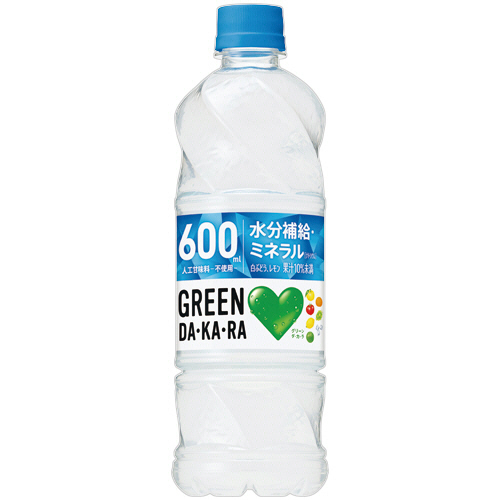 GREEN DA・KA・RA(グリーンダカラ) 600ml ×24本