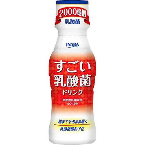 いなば食品 すごい乳酸菌ドリンク 100ml/本 1ケース(10本)