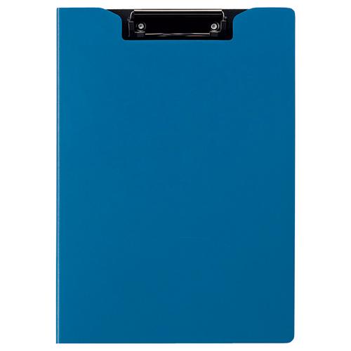 TANOSEE クリップファイル A4タテ ブルー 1枚