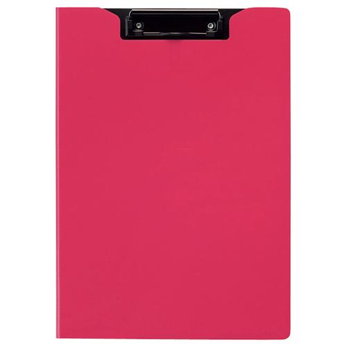TANOSEE クリップファイル A4タテ ピンク 1枚