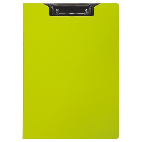 TANOSEE クリップファイル A4タテ グリーン 1枚