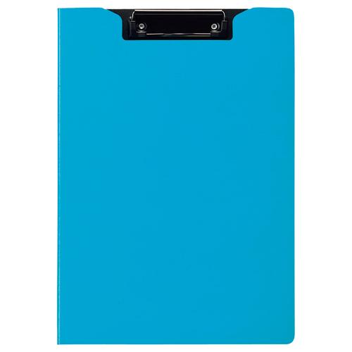 TANOSEE クリップファイル A4タテ ライトブルー 1枚