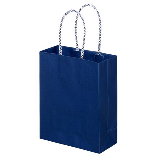 スーパーバッグ ライナー手提袋 小 ヨコ165×タテ200×マチ幅75mm 紺 0998900110 1パック(10枚)