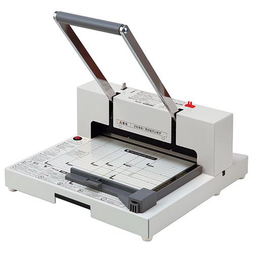 プラス かんたん替刃交換 断裁機 裁断幅299mm(A4長辺) ホワイト PK-513LN 1台