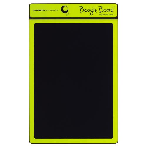 キングジム 電子メモパッド ブギーボード 黄緑 BB-1N 1台