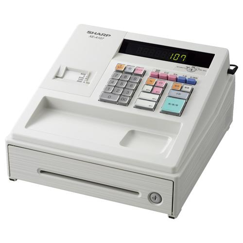 シャープ 電子レジスタ ホワイト XE-A107-W 1台