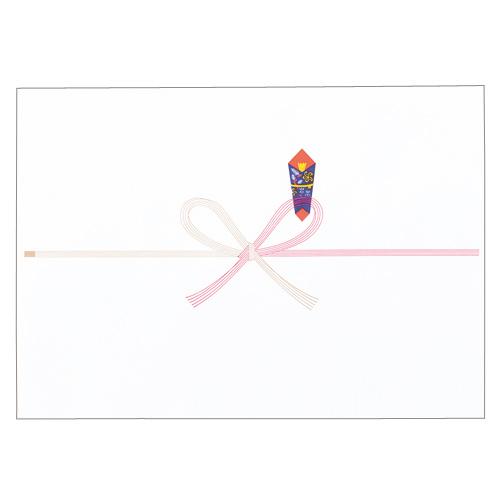 寿堂 祝のし紙 花結 B4 コピー用FSC森林認証紙 55702 1パック(100枚)