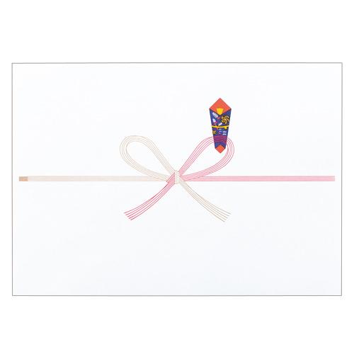 寿堂 祝のし紙 花結 A4 コピー用FSC森林認証紙 55703 1パック(100枚)