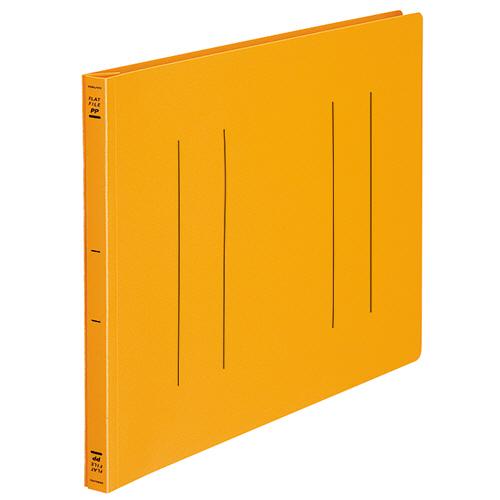 コクヨ フラットファイル(PP) B4ヨコ 150枚収容 背幅20mm オレンジ フ-H19YR 1セット(10冊)