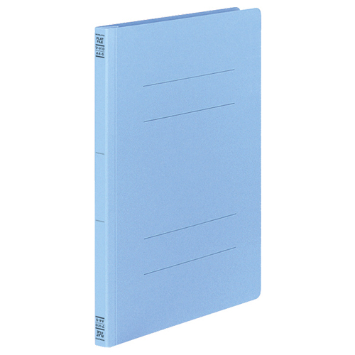 コクヨ フラットファイルV(樹脂製とじ具) A4タテ 150枚収容 背幅18mm コバルトブルー フ-V10CB 1セット(30冊:10冊×3パック)