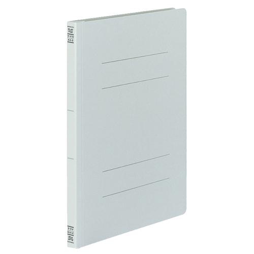 コクヨ フラットファイルV(樹脂製とじ具) A4タテ 150枚収容 背幅18mm グレー フ-V10M 1セット(30冊:10冊×3パック)