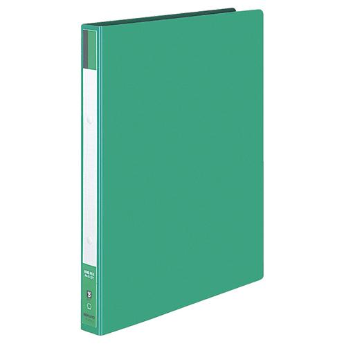 コクヨ リングファイル 色厚板紙表紙 A4タテ 2穴 170枚収容 背幅30mm 緑 フ-420G 1セット(10冊)