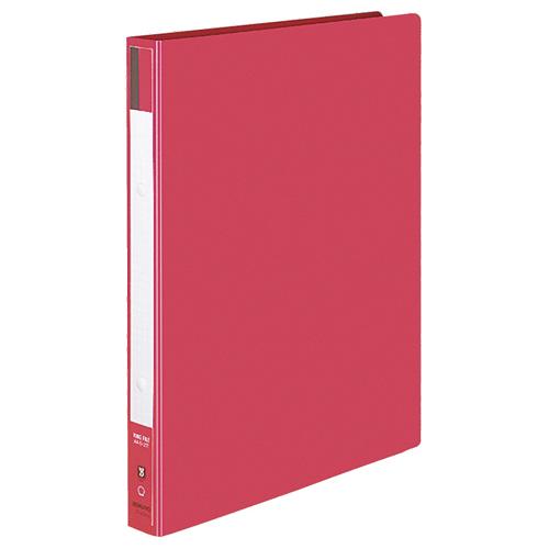 コクヨ リングファイル 色厚板紙表紙 A4タテ 2穴 170枚収容 背幅30mm 赤 フ-420R 1セット(10冊)