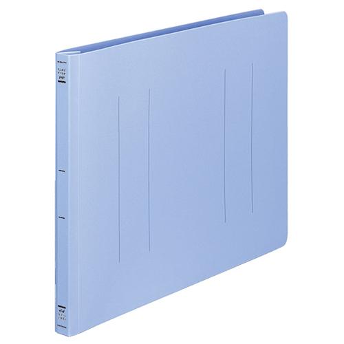 コクヨ フラットファイル(PP) B4ヨコ 150枚収容 背幅20mm 青 フ-H19B 1セット(10冊)