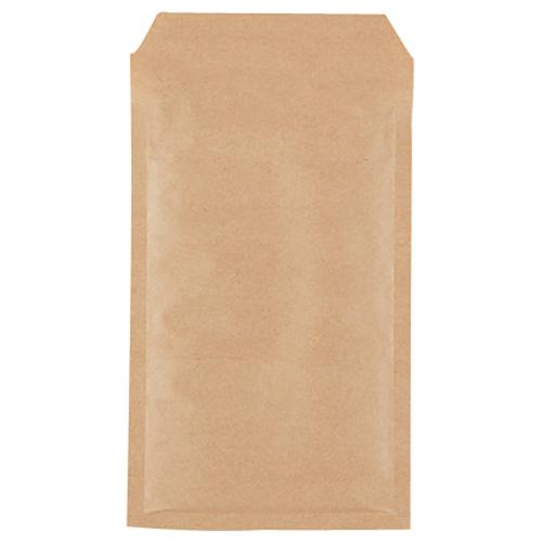TANOSEE クッション封筒エコノミー FD・MO用 内寸130×215mm 茶 1セット(400枚:200枚×2パック)