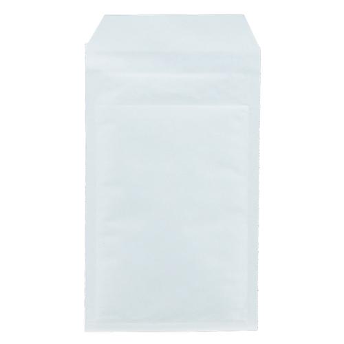 TANOSEE クッション封筒エコノミー FD・MO用 内寸130×215mm ホワイト 1セット(400枚:200枚×2パック)