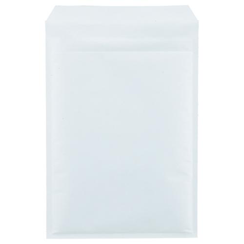 TANOSEE クッション封筒エコノミー A4用 内寸235×330mm ホワイト 1セット(200枚:100枚×2パック)