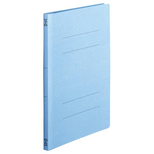 TANOSEE フラットファイル(スタンダードカラー) A4タテ 150枚収容 背幅18mm コバルトブルー 1セット(200冊:10冊×20パック)