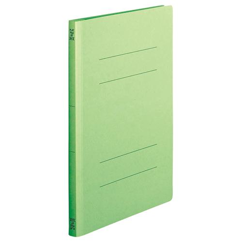 TANOSEE フラットファイル(スタンダードカラー) A4タテ 150枚収容 背幅18mm 緑 1セット(200冊:10冊×20パック)
