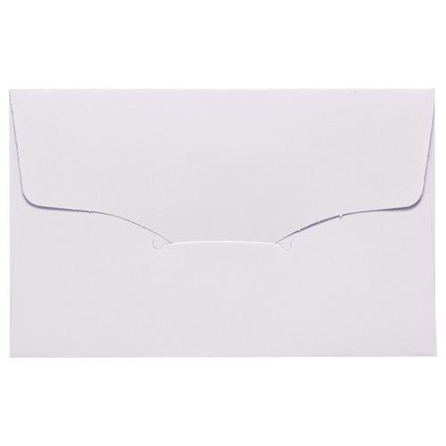 名刺型封筒 112×70mm 100g/m2 白 ベ567 1セット(100枚:10枚×10パック)