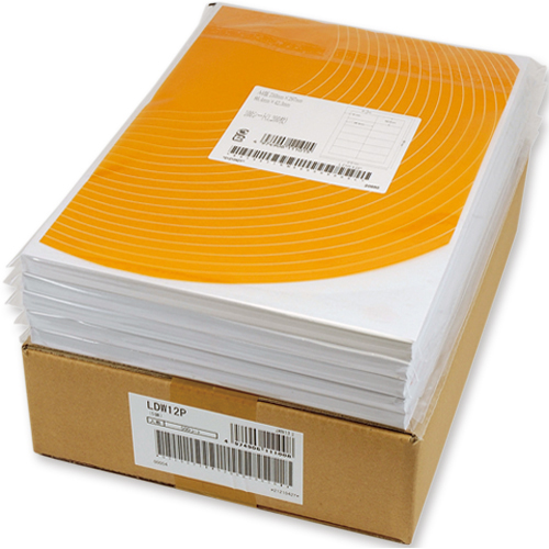 東洋印刷 ナナコピー シートカットラベル マルチタイプ A4 4面 148.5×105mm C4i 1セット(2500シート:500シート×5箱)