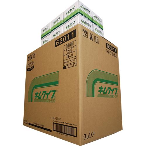 日本製紙クレシア キムワイプ S-200 62011 1セット(14400枚:200枚×72パック)