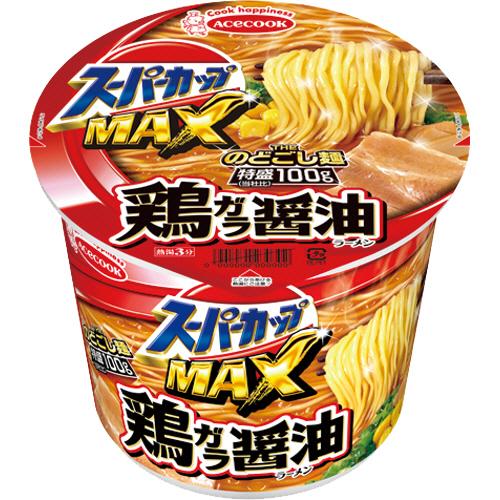 エースコック スーパーカップ1.5 鶏ガラ醤油 113g 1ケース(12食)