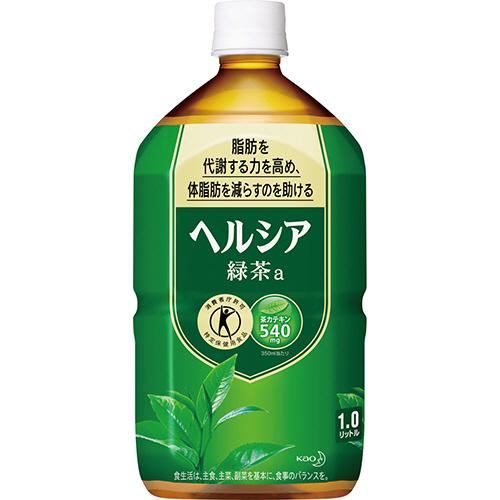 花王 ヘルシア緑茶 1L ペットボトル 1ケース(12本)