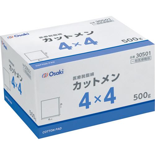 オオサキメディカル オオサキカットメン 4×4cm 500g 30501 1セット(5箱)