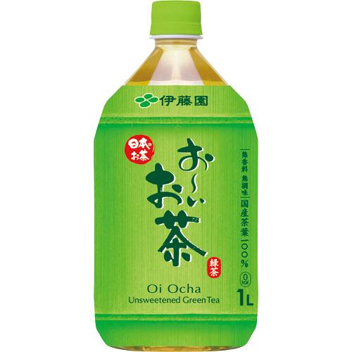 伊藤園 おーいお茶 緑茶 1L ペットボトル 1ケース(12本)