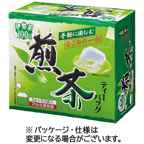 三ツ木園 伊勢茶ティーバッグ 煎茶 2g 1セット(300バッグ:50バッグ×6箱)