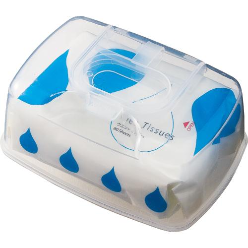 TANOSEE ウェットティッシュ ワンプッシュケース付 1ケース(800枚:80枚×10パック)