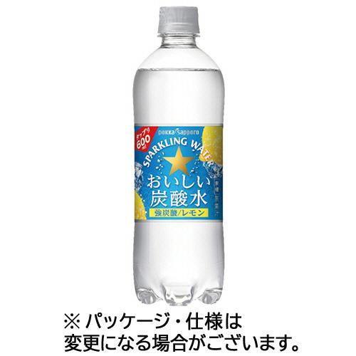 おいしい炭酸水レモン 500ml ×24本